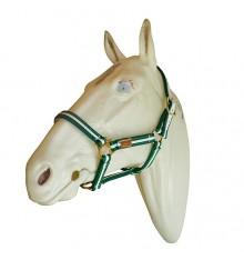 Cabezada Marjoman para caballo percherón