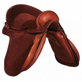 Spanish Suede Saddle
