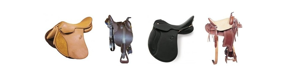 English and Western Saddles